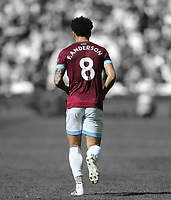 West Ham United's Felipe Anderson<br /> <br /> Photographer Rob Newell/CameraSport<br /> <br /> The Premier League - West Ham United v Leicester City - Saturday 20th April 2019 - London Stadium - London<br /> <br /> World Copyright © 2019 CameraSport. All rights reserved. 43 Linden Ave. Countesthorpe. Leicester. England. LE8 5PG - Tel: +44 (0) 116 277 4147 - admin@camerasport.com - www.camerasport.com
