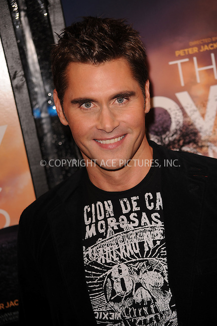 WWW.ACEPIXS.COM . . . . . ....December 2 2009, New York City....Jack Mackenroth arriving at the 'The Lovely Bones' premiere at the Paris Theatre on December 2, 2009 in New York City.....Please byline: KRISTIN CALLAHAN - ACEPIXS.COM.. . . . . . ..Ace Pictures, Inc:  ..(212) 243-8787 or (646) 679 0430..e-mail: picturedesk@acepixs.com..web: http://www.acepixs.com
