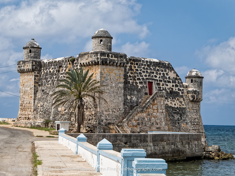 Former fort guarding Cojimar harbor