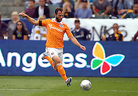 CARSON, CA - DECEMBER 01, 2012:  Brad Davis (11) of the Houston Dynamo during the 2012 MLS Cup at the Home Depot Center, in Carson, California on December 01, 2012. The Galaxy won 3-1.