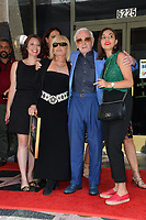 Charles Aznavour &amp; Family at the the Hollywood Walk of Fame star ceremony honoring French singer Charles Aznavour on Hollywood Boulevard, USA 24 Aug. 2017<br /> Picture: Paul Smith/Featureflash/SilverHub 0208 004 5359 sales@silverhubmedia.com
