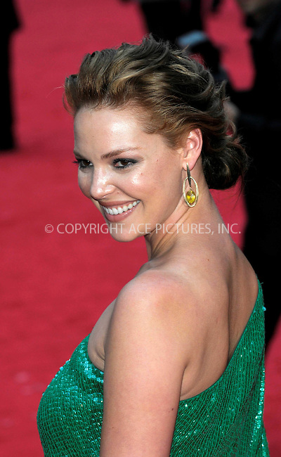 WWW.ACEPIXS.COM . . . . .  ..... . . . . US SALES ONLY . . . . .....August 4 2009, New York City....Actress Katherine Heigl at 'The Ugly Truth' film premiere at the Vue West End cinema on August 4, 2009 in London, England....Please byline: FAMOUS-ACE PICTURES... . . . .  ....Ace Pictures, Inc:  ..tel: (212) 243 8787 or (646) 769 0430..e-mail: info@acepixs.com..web: http://www.acepixs.com