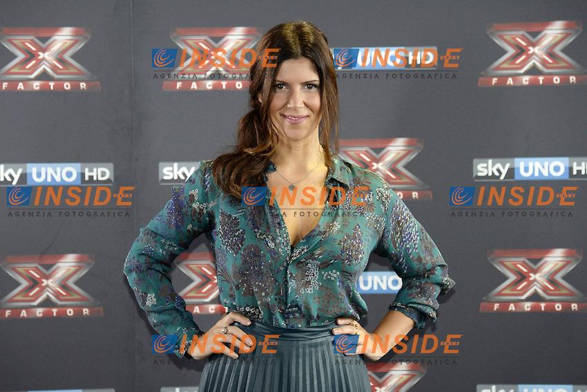 Db Milano 26/10/2016 - photocall trasmissione Tv 'X-Factor' / foto Daniele Buffa/Image/Insidefoto <br /> nella foto: Daniela Collu