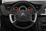 Car pictures of steering wheel view of a 2016 Citroen C5-Tourer Hydractive-Exclusive 5 Door wagon Steering Wheel