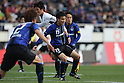 Yasuyuki Konno (Gamba), MARCH 10, 2012 - Football / Soccer : 2012 J.LEAGUE Division 1, 1st sec match between Gamba Osaka 2-3 Vissel Kobe at Expo'70 Commemorative Stadium, Osaka, Japan. (Photo by Akihiro Sugimoto/AFLO SPORT) [1080]