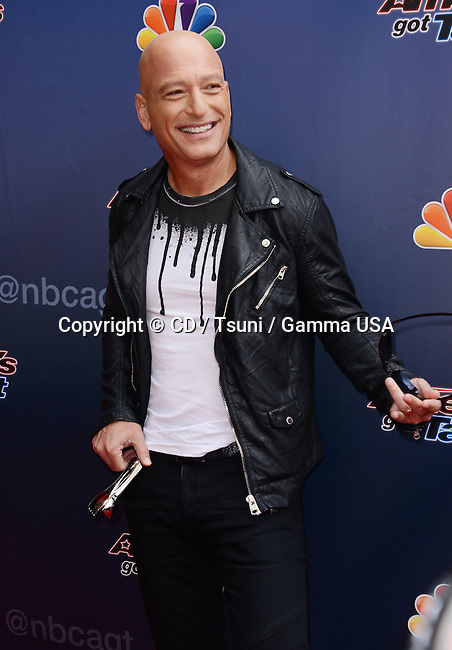Howie Mandel at American Got Talent 2014 at the Dolby Theatre in Los Angeles.