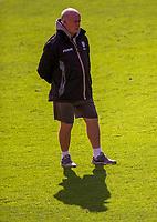 London Irish's Head Coach Declan Kidney<br /> <br /> Photographer Bob Bradford/CameraSport<br /> <br /> Premiership Rugby Cup Round Three - Bristol Bears v London Irish - Sunday 6th October 2019 - Ashton Gate - Bristol<br /> <br /> World Copyright © 2018 CameraSport. All rights reserved. 43 Linden Ave. Countesthorpe. Leicester. England. LE8 5PG - Tel: +44 (0) 116 277 4147 - admin@camerasport.com - www.camerasport.com