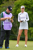 Nelly Korda (USA) looks over her tee shot on 10 during round 4 of the KPMG Women's PGA Championship, Hazeltine National, Chaska, Minnesota, USA. 6/23/2019.<br /> Picture: Golffile | Ken Murray<br /> <br /> <br /> All photo usage must carry mandatory copyright credit (© Golffile | Ken Murray)