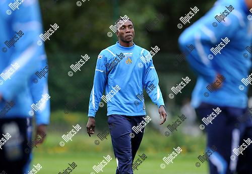 2011-10-11 / Voetbal / seizoen 2011-2012 / KVC Westerlo / Bavon Tshibuabua op training..Foto: Mpics