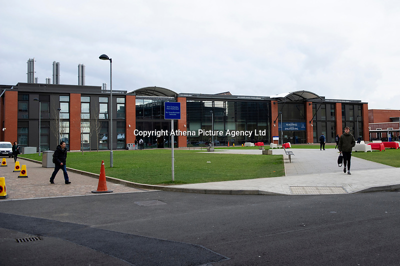 Pictured: A General View of the Swansea University Bay Campus, Swansea, Wales, UK. Monday 26 November 2018.<br /> Re: Swansea University has suspended its vice-chancellor.<br /> Prof Richard B Davies has held the role at the university since 2003 and stood aside for an internal investigation to take place.<br /> The dean of the school of management, Prof Marc Clement, and two other staff members, have also been suspended.<br /> A Swansea University spokesman said Prof Davies and Prof Clement were suspended on full pay.