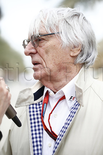01.04.2016. Bahrain. FIA Formula One World Championship 2016, Grand Prix of Bahrain, Practise day.   Bernie Ecclestone (GBR, President and CEO of Formula One Management and Formula One Administration)