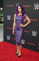 NORTH HOLLYWOOD, CA - JUNE 6: Sasha Banks,  WWE's First-Ever Emmy &quot;For Your Consideration&quot; Event at The Saban Media Center in North Hollywood, California on June 6, 2018. <br /> CAP/MPIFS<br /> &copy;MPIFS/Capital Pictures