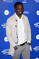 Riaze Foster at the &quot;Yardie&quot; premiere as part of the Sundance London Festival 2018, Picturehouse Central, London, UK. <br /> 01 June  2018<br /> Picture: Steve Vas/Featureflash/SilverHub 0208 004 5359 sales@silverhubmedia.com