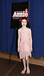 Lilla Crawford attending the Meet & Greet for 'ANNIE' at The New 42nd Street Rehearsal Studios in New York City on September 112, 2012