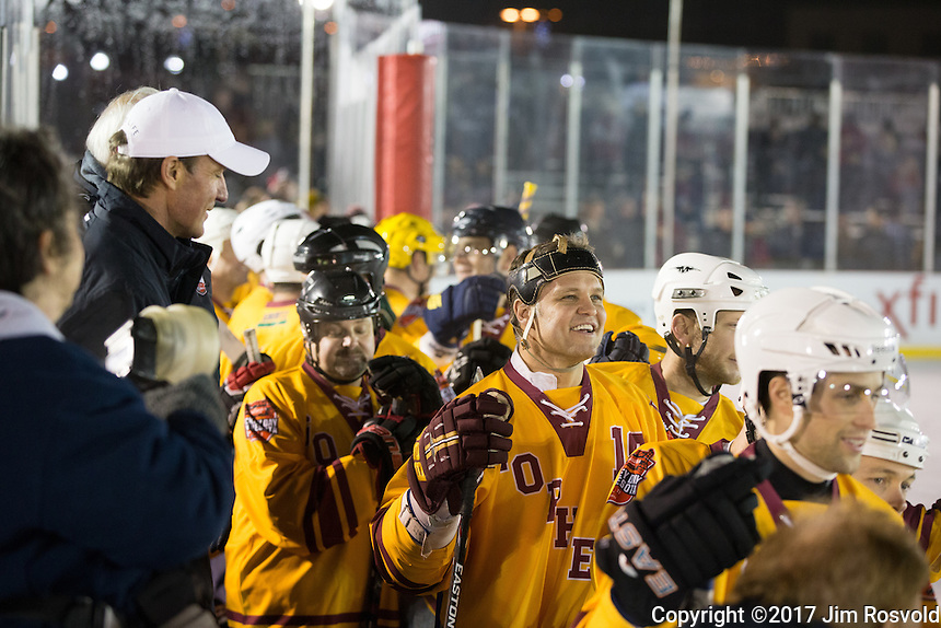 20 Jan 17: Friday Night at Hockey Day Minnesota