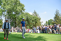 Dustin Johnson (USA) makes his way down 8 during round 4 of the World Golf Championships, Mexico, Club De Golf Chapultepec, Mexico City, Mexico. 3/5/2017.<br /> Picture: Golffile | Ken Murray<br /> <br /> <br /> All photo usage must carry mandatory copyright credit (&copy; Golffile | Ken Murray)