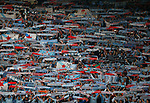 Celta Vigo fans during the Europa League Semi Final 2nd Leg match at Old Trafford Stadium, Manchester. Picture date: May 11th 2017. Pic credit should read: Simon Bellis/Sportimage