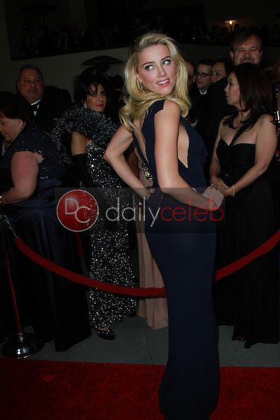 Amber Heard<br /> at the 64th Annual Directors Guild Of America Awards, Hollywood & Highland, Hollywood, CA 01-28-12<br /> David Edwards/DailyCeleb.com 818-249-4998