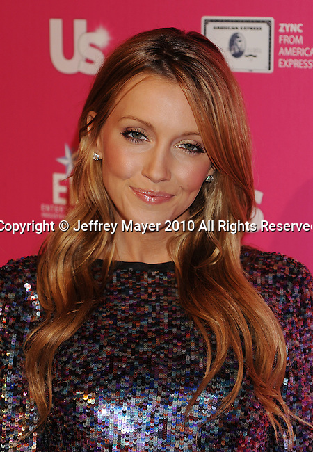 "HOLLYWOOD, CA. - November 18: Katie Cassidy arrives at US Weekly's Hot Hollywood ""Stars Who Care"" Event at The Colony on November 18, 2010 in Los Angeles, California."