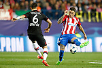 Atletico de Madrid's Jose Maria Gimenez (r) and Bayer 04 Leverkusen's Aleksandar Dragovic during Champions League 2016/2017 Round of 16 2nd leg match. March 15,2017. (ALTERPHOTOS/Acero)