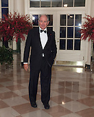 Stephen Schwarzman, Chairman, CEO and Co-Founder, The Blackstone Group arrives at the State Dinner for China's President President Xi and Madame Peng Liyuan at the White House in Washington, DC for an official State Visit Friday, September 25, 2015. Credit: Chris Kleponis / CNP
