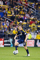 26 SEPTEMBAR 2009:  #33 Chris Birchall of the LA Galaxy during the Los Angeles Galaxy at Columbus Crew MLS game in Columbus, Ohio on May 27, 2009. Columbus defeated LA 2-0