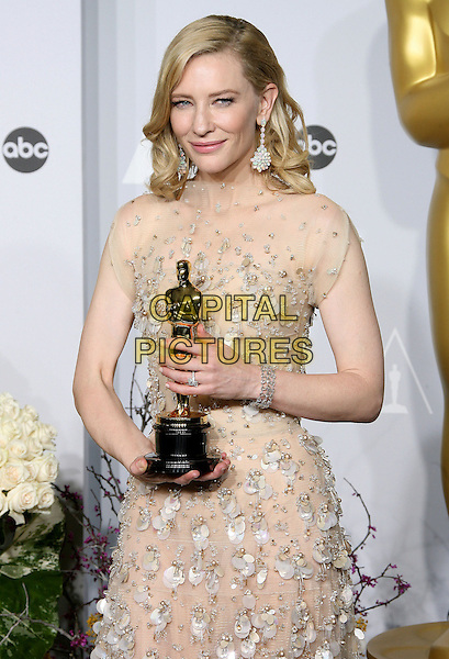 02 March 2014 - Hollywood, California - Cate Blanchett (wearing Armani). 86th Annual Academy Awards held at the Dolby Theatre at Hollywood &amp; Highland Center. <br /> CAP/ADM<br /> &copy;AdMedia/Capital Pictures