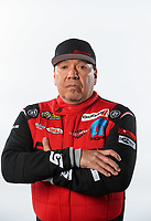 Feb 6, 2019; Pomona, CA, USA; NHRA funny car driver Cruz Pedregon poses for a portrait during NHRA Media Day at the NHRA Museum. Mandatory Credit: Mark J. Rebilas-USA TODAY Sports