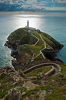 South Stacks Lighthouse, Anglesey, first became operational in 1809