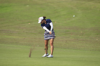 Marina Alex (USA) in action on the 1st during Round 3 of the HSBC Womens Champions 2018 at Sentosa Golf Club on the Saturday 3rd March 2018.<br /> Picture:  Thos Caffrey / www.golffile.ie<br /> <br /> All photo usage must carry mandatory copyright credit (&copy; Golffile | Thos Caffrey)