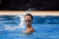Eva Morris (Tauranga Synchro). Day Two of the 2018 North Island Synchronised Swimming Championships at Wellington Regional Aquatics Centre in Wellington, New Zealand on Sunday, 20 May 2018. Photo: Dave Lintott / lintottphoto.co.nz