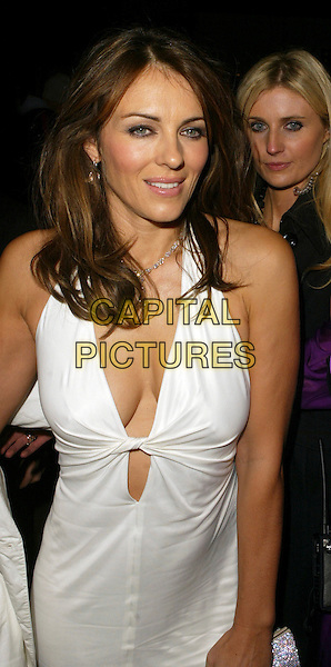 PIC BY GARY STONE. 14/11/2007. LIZ HURLEY ARRIVES AT ELTON JOHN AIDS FOUNDATION DINNER. ( NOT FOR SUN )