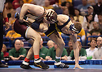 March 21 2009      Mike Miller (maroon) from Central Michigan battled Steve Luke from Michigan (blue) in the 174 pound weight class in the championship round of the NCAA Division I  Wrestling Championships which were held March 19 through March 21, 2009 at the Scottrade Center in downtown St. Louis, Missouri.  Luke won...         *******EDITORIAL USE ONLY*******