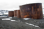 Remains Of Deception Island Whaling Station