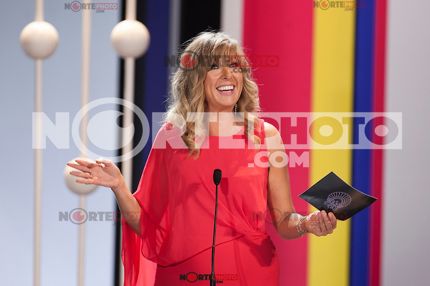 Paprika Steen during the 63rd Donostia Zinemaldia opening ceremony (San Sebastian International Film Festival) in San Sebastian, Spain. September 18, 2015. (ALTERPHOTOS/Victor Blanco) /NortePhoto.com