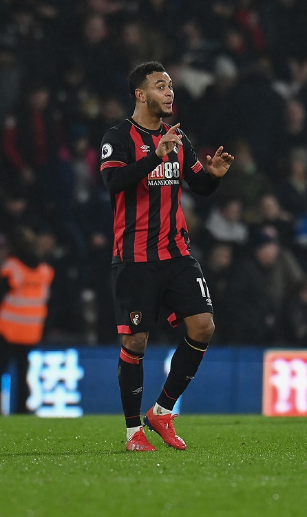 Bournemouth's Joshua King<br /> <br /> Photographer David Horton/CameraSport<br /> <br /> The Premier League - Bournemouth v West Ham United - Saturday 19 January 2019 - Vitality Stadium - Bournemouth<br /> <br /> World Copyright © 2019 CameraSport. All rights reserved. 43 Linden Ave. Countesthorpe. Leicester. England. LE8 5PG - Tel: +44 (0) 116 277 4147 - admin@camerasport.com - www.camerasport.com