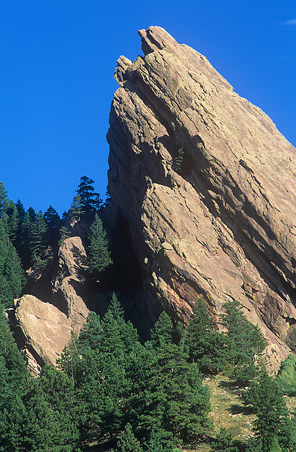 Third Flatiron, Mesa Trail, Boulder, Colorado