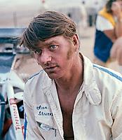 "Ivan ""Iron Man"" Stewart, AC-Delco World Championships of Off-Road Racing, Riverside International Raceway, Sept 5, 1975. Photo by John G. Zimmerman."