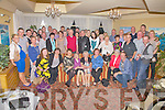 Nora Dwyer from Cahersiveen front 4th from left celebrated her 90th birthday party with family and friends at the Ring of Kerry Hotel.