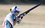 Yukie Nakayama (JPN),<br /> AUGUST 7, 2016 - Shooting :<br /> Women's Trap Qualification at Olympic Shooting Centre during the Rio 2016 Olympic Games in Rio de Janeiro, Brazil. (Photo by Enrico Calderoni/AFLO SPORT)