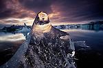 Icebergs, Jokulsarlon, Breidamerkursandur, Iceland