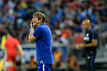 Chelsea FC Head Coach Antonio Conte reacts during the International Champions Cup 2017 match between FC Internazionale and Chelsea FC on July 29, 2017 in Singapore. Photo by Weixiang Lim / Power Sport Images