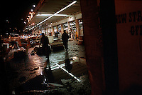 USA. New York. 12th October 2006..Fulton St Fish Market..©Andrew Testa