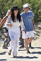 Michael Douglas & Catherine Zeta-Jones enjoy some vacation in Saint-Tropez - France.