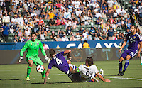 Carson, CA - September 11, 2016: The LA Galaxy go on to defeat Orlando City SC 4-2 with Giovani dos Santos contributing a goal in a Major League Soccer (MLS) match at StubHub Center.