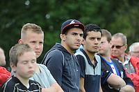 VOETBAL: DE KNIPE: Read Swart-complex, 21-07-2012, Oefenwedstrijd SC Heerenveen - K. Beerschot AC, Oussama Assaidi aanwezig in het publiek, ©foto Martin de Jong