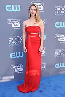 11 January 2018 - Santa Monica, California - Betty Gilpin. 23rd Annual Critics' Choice Awards held at Barker Hangar. <br /> CAP/ADM/BT<br /> &copy;BT/ADM/Capital Pictures