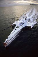 Record Seeking Power Boats