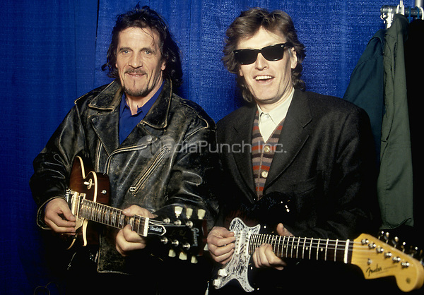 Jim Capaldi & Steve Winwood of Traffic in Philadelphia, PA.  March, 1994.  © Scott Weiner /MediaPunch.