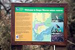 Information board Snape Warren RSPB site